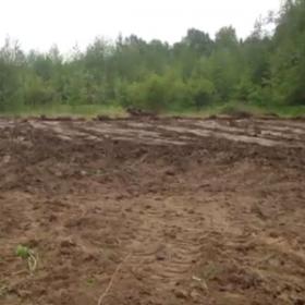 Расчистка участка 7 соток в Уткино